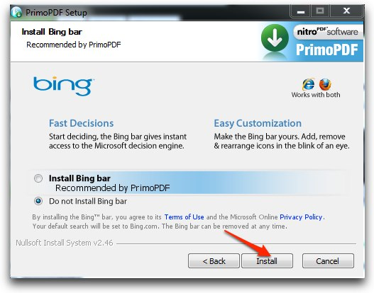 how to  primo pdf software for free
